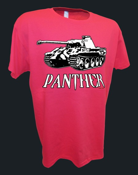Panther Panzer WW2 German SS Division D-Day Rc tank pink
