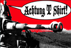 ACHTUNG T SHIRT'S ADVERTISEMENT ON ARMORAMA.COM