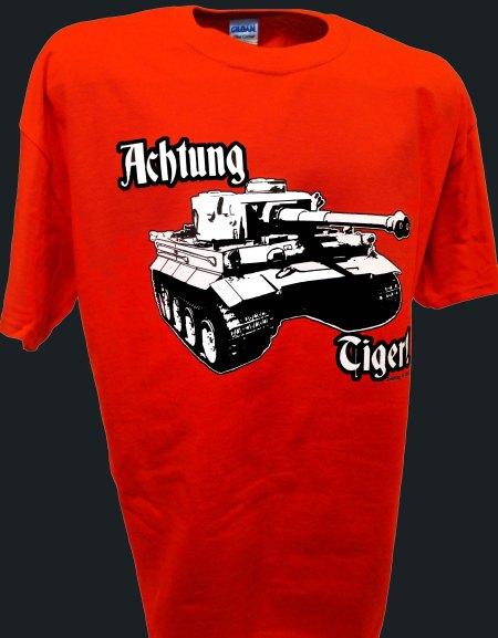 Tiger Tank T Shirts | Achtung T Shirt's Weblog