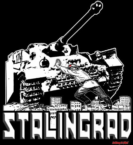 Stalingrad ww2 russian tank panzer mark 4