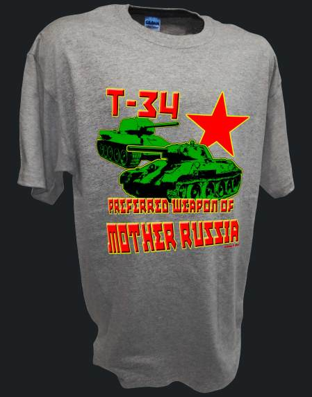 T34 Red army Mother Russia Tank ww2 spt