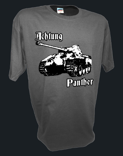 Achtung Panther Panzer WW2 German SS D-Day Rc tank