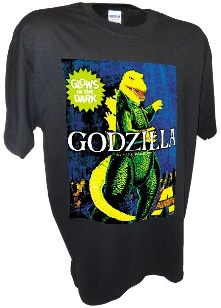 Aurora Godzilla Monster Model Kit Horror Movie black