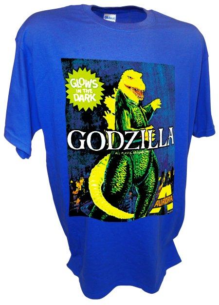 Aurora Godzilla Monster Model Kit Horror Movie blue