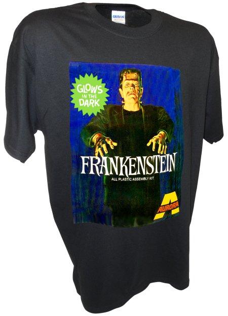 Frankenstein Monster Dracula Aurora Model Kits black