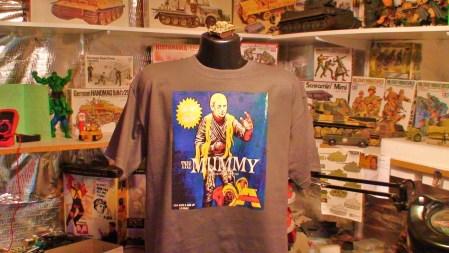 The Mummy Monster Model Kit Horror Movie