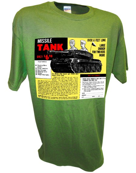 Toy Tank Soldiers Army Men Toy Army Man Comic Book Ad green
