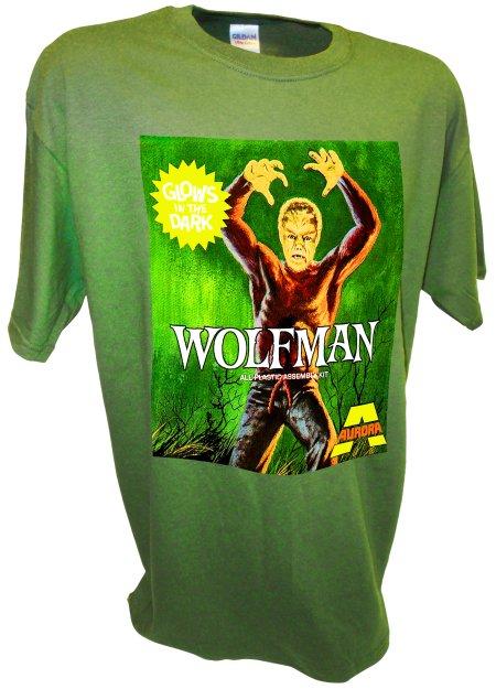 Wolfman Classic Horror Toy Model Werewolf green