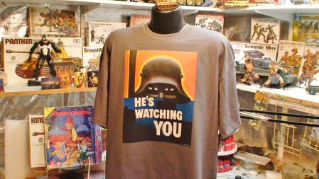 He's Watching You Propaganda Art
