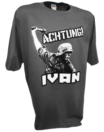 Achtung Ivan German soldier ww2 d-day 1944 invasion airborne gray