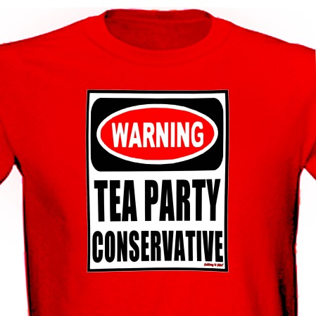 Tea Party Conservative Warning Sign Funny Pro Gun 2nd Amend