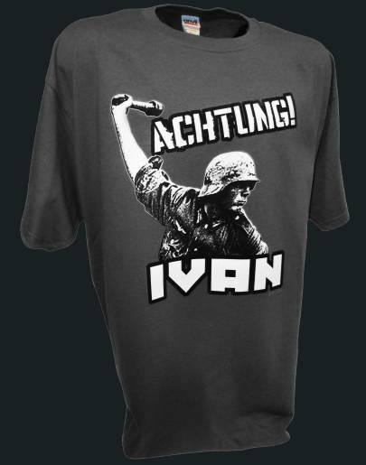 Achtung Ivan German soldier ww2 d-day 1944 invasion airborne gray