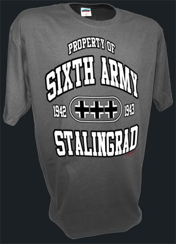 Sixth Army German Stalingrad Ww2 4th Panzer Tank Division gray