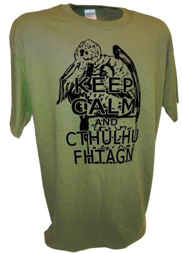 Cthulhu Keep CAlm Mythos Necronomicon hp lovecraft  horror novel gn