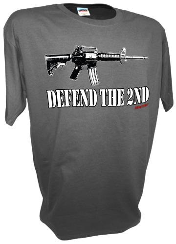 DEFEND THE 2ND AMENDMENT AR15 RIFLE