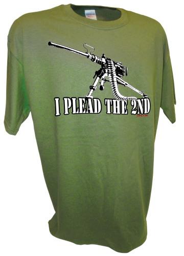 Plead 2nd amendment 50 cal Browning Machine Gun M2 M2HB BMG gn