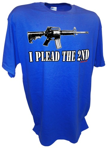 Plead the 2nd Amendent Gun Right Pro Firearms Assault Rifle Ban bl