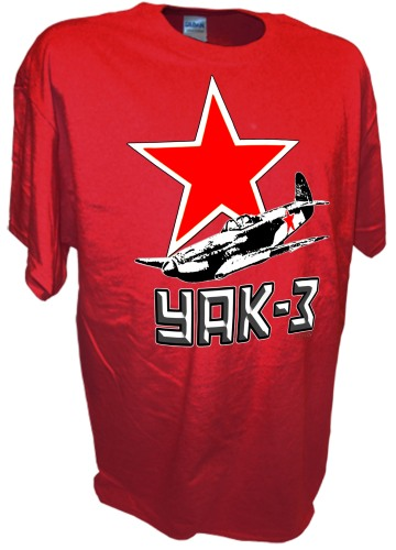 Yak 3 Russian Fighter Airplane Red Army Airforce ww2 red