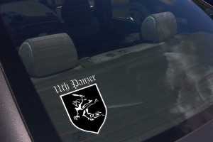 11TH PANZER CAR DECAL 2