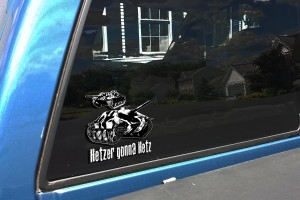 Hetzer Gonna HETZ TRUCK  DECAL