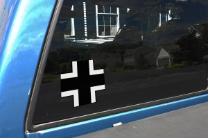 IRON CROSS PANZER TRUCK  DECAL
