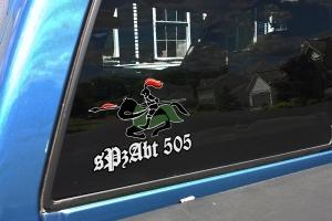 sPzAbt 505 TRUCK  DECAL