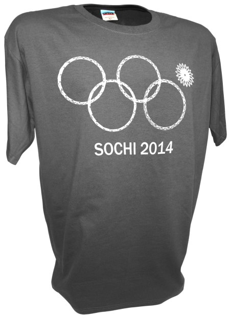 Sochi Olympic Rings Fail Winter Games opening ceremonies gray