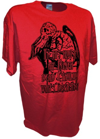 Rlyeh Call Of Cthulhu Lovecraft Horror Story red