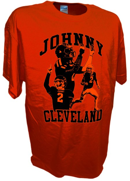 Manziel Johnny Football Cleveland Browns Texas A M Quarterback 2 or