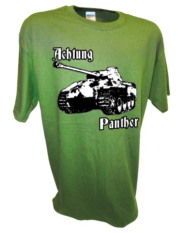 Achtung Panther Panzer WW2 German SS D-Day Rc tank green