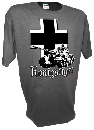 Konigstiger Iron CrossTiger 2 Tank German Rc Ww2 Panzer gray