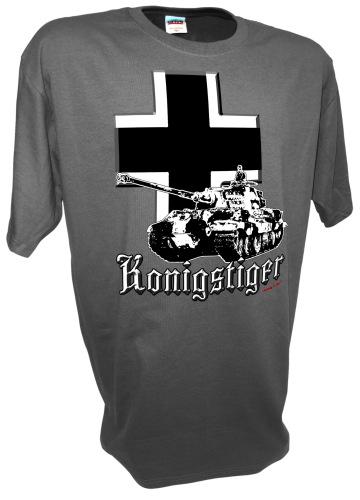 Konigstiger Iron CrossTiger 2 Tank German Rc Ww2 Panzer gray.jpeg