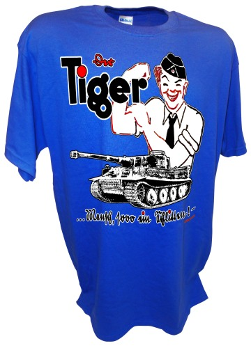 Tigerfibel Tiger Tank Field Manual German ww2 blue